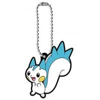 02-41971 Pokemon Capsule Rubber Mascot Vol. 11 300y - Pachirisu