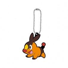 01-47327 Pokemon Capsule Rubber Mascot Pt 12 300y - Tepig (Pokabu)