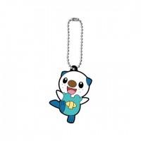 01-47327 Pokemon Capsule Rubber Mascot Pt 12 300y - Oshawott (Mijumaru)