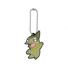01-47327 Pokemon Capsule Rubber Mascot Pt 12 300y - Axew (Kibago)