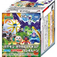 02-10539 Pokemon Sun & Moon - Pokemon Style Figure Sun & Moon 380y - Set of 5
