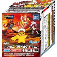 02-10580 Pokemon the Movie  20th Anniversary - Pokemon Style Figure I Choose You  380y - Set of 4