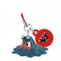 02-81226 Mother 2 (Earthbound) Mini Mascot Strap Swinger 200y - Master Belch