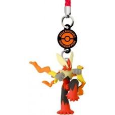 02-81631 Pokemon XY DX02 Side Y Netsuke Strap Figure - Mega Blaziken