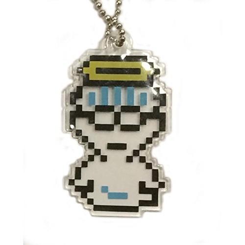 02-82068 Earthbound Mother 2 Kizetsu Plate Flat Keychain 200y - Jeff
