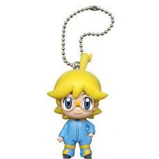 02-83879 Pokemon Pocket Monster XY&Z Deformed Figure Series Mini Trainer Mascot  Keychain / Swing 300y - Clemont