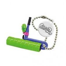 02-85660 Takara TOMY A.R.T.S Splatoon 2 Buki Mascot Mini Weapons Keychain  200y - Splat Roller [Neon Green)