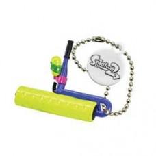 02-85660 Takara TOMY A.R.T.S Splatoon 2 Buki Mascot Mini Weapons Keychain  200y - Splat Roller [Neon Yellow)
