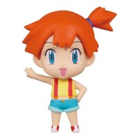 02-85720 Pokemon Deformed Figure Series Girl Trainers Special Figure Mascot / Key Chain  300y - Kasumi (Misty)