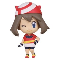 02-85720 Pokemon Deformed Figure Series Girl Trainers Special Figure Mascot / Key Chain  300y - Haruka (May)
