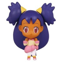 02-85720 Pokemon Deformed Figure Series Girl Trainers Special Figure Mascot / Key Chain  300y - Iris