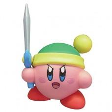 02-86161 Takara TOMY A.R.T.S Kirby's Adventure  Deluxe  Battle Royale Manmaru Mini Figure Mascot 200y - Sword Link Kirby