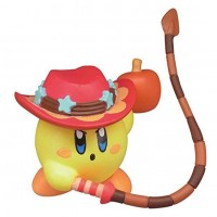 02-86161 Takara TOMY A.R.T.S Kirby's Adventure  Deluxe  Battle Royale Manmaru Mini Figure Mascot 200y - Whip Kirby