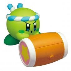 02-86161 Takara TOMY A.R.T.S Kirby's Adventure  Deluxe  Battle Royale Manmaru Mini Figure Mascot 200y - Hammer Kirby