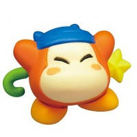 02-86161 Takara TOMY A.R.T.S Kirby's Adventure  Deluxe  Battle Royale Manmaru Mini Figure Mascot 200y - Bandana Waddle Dee