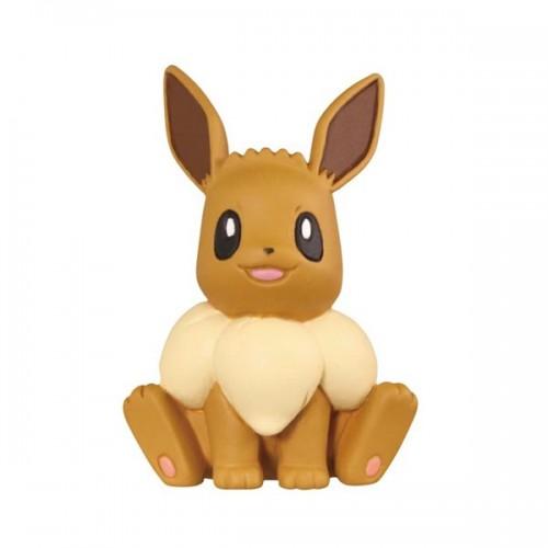 Takara Tomy Pokemon Sun/&Moon Eevee Full Collection P2 Eevee Grasp Figure
