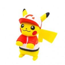 02-87249 Pokemon Let's Go  Pikachu and Eevee Adventure Mini Figure Collection 300y - Pikachu Sport