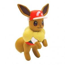 02-87249 Pokemon Let's Go  Pikachu and Eevee Adventure Mini Figure Collection 300y - Eevee Sport