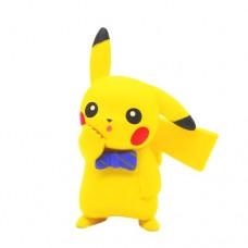 02-87249 Pokemon Let's Go  Pikachu and Eevee Adventure Mini Figure Collection 300y - Pikachu Bowtie