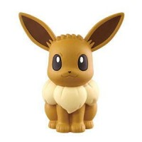 02-87252 Pokemon Sun & Moon Soft Vinyl Sofubi Figure 300y - Eevee