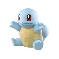 02-87252 Pokemon Sun & Moon Soft Vinyl Sofubi Figure 300y - Squirtle