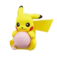 02-87298 Pokemon Sun & Moon  Nuku Nuku Yarn Ball Warm/Snugly Time 200y - Pikachu