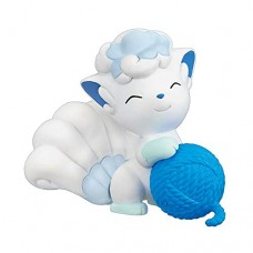 02-87298 Pokemon Sun & Moon  Nuku Nuku Yarn Ball Warm/Snugly Time 200y - Alolan Vulpix