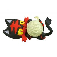 02-87298 Pokemon Sun & Moon  Nuku Nuku Yarn Ball Warm/Snugly Time 200y - Litten