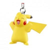 02-87309 Pokemon Netsuke Sun & Moon Mascot Strap Part 3 200y - Pikachu