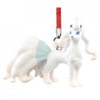 02-87309 Pokemon Netsuke Sun & Moon Mascot Strap Part 3 200y - Ninetales