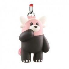 02-87309 Pokemon Netsuke Sun & Moon Mascot Strap Part 3 200y - Bewear