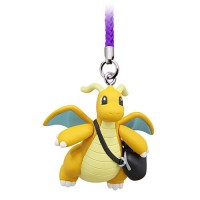02-87674 Pokemon Netsuke Mascot Mewtwo Strikes Back Evolution Figure Mascot Strap 200y - Dragonite