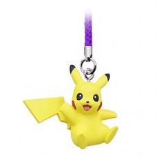 02-87674 Pokemon Netsuke Mascot Mewtwo Strikes Back Evolution Figure Mascot Strap 200y - Pikachu