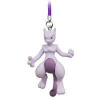 02-87674 Pokemon Netsuke Mascot Mewtwo Strikes Back Evolution Figure Mascot Strap 200y - Mewtwo