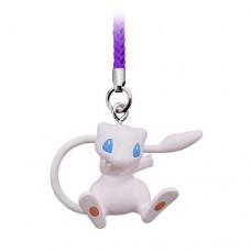 02-87674 Pokemon Netsuke Mascot Mewtwo Strikes Back Evolution Figure Mascot Strap 200y - Mew