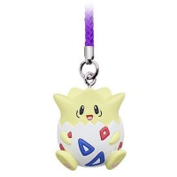 02-87674 Pokemon Netsuke Mascot Mewtwo Strikes Back Evolution Figure Mascot Strap 200y - Togepi