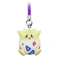 02-87674 Pokemon Netsuke Mascot Mewtwo Strikes Back Evolution Figure Mascot Strap 200y - Togepi