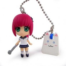 02-96417 Pangya SD Keychains Swingers (super Swing Golf) - Erica