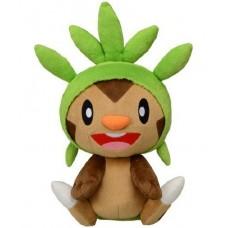 02-49271 Takara TOMY Pokémon Reply Chat Talking Plush - Chespin