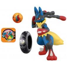 02-81491 Pokemon XY Mega ring Shinka Mega Lucario Special Figure Set 3600y