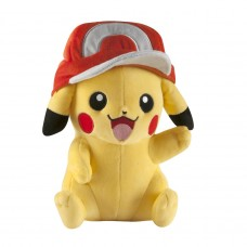 T18981 TOMY Pokemon  Plush - Pikachu Ash's Hat Version