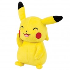 T19389 TOMY Pokemon  Plush - Pikachu Smiling Version