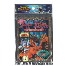 05-99381 Digimon Super Bromaido Extra Large Trading Cards Japan 200y