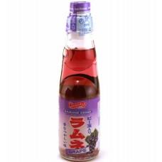 0X-76871 Shirakiku Carbonated Ramune Drink - Grape