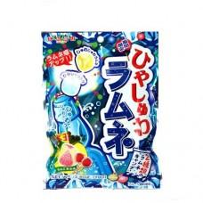 0X-93423 Senjaku Cool Soda Candy Ramune Flavored Candy 2.4 Oz 70g