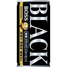 0X-20498 Suntory Boss Black Coffee 6.5 Oz 185g