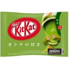 0X-17655 Japanese Kit Kat Matcha Green Tea Mini KitKat mini chocolate 4.79 Oz 135g