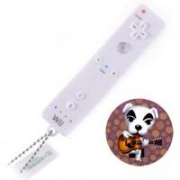 02-97944 Animal Crossing Mini Wii Remote Controller Keychain Light Projector - K.K. Slider