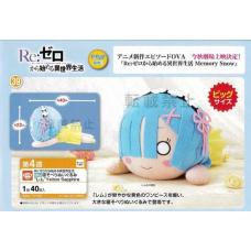 01-28655 Sega RE:Zero MEJ Nesoberi Plush REM Yellow Sapphire