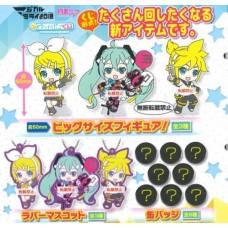 01-29381 Vocaloid Hatsune Miku Capsule Rubber Mascot 300y